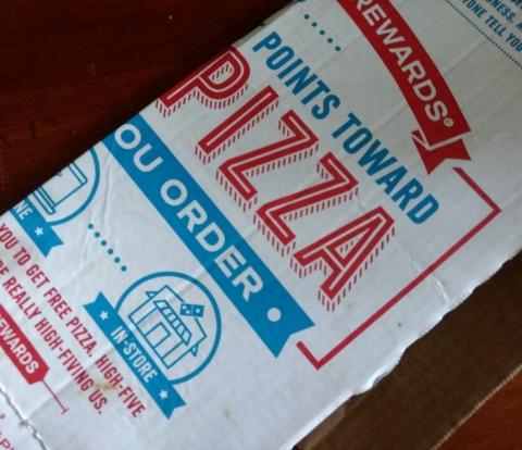 Pizza box top